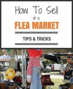 How to sell at a flea market  Tina Johnson