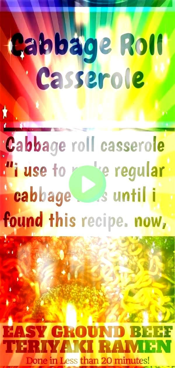i use to make regular cabbage rolls until i found this recipe now instea 4 Cabbage Roll Casserole   I use to make regular cabbage rolls until I found this recipe Now...