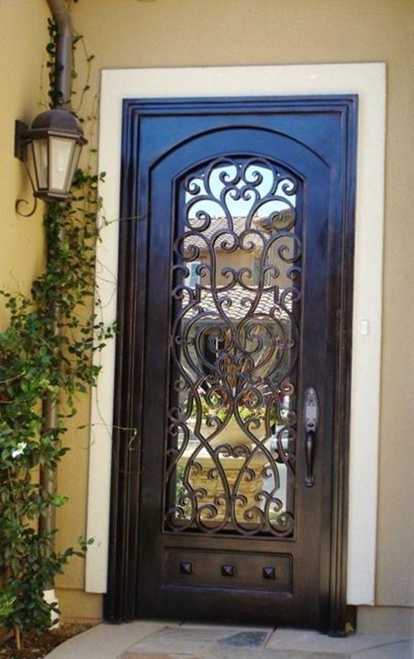 main door designs (7) & 50 Latest Main Door Designs For Your Villa | Main door Main door ...