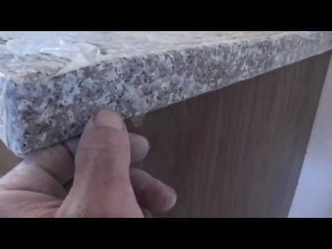 How to install granite countertops on a budget part 5 sandpaper do it yourself granite kitchen counters part how to polish a rough cut to a nice shine with various sandpaper grits solutioingenieria Images