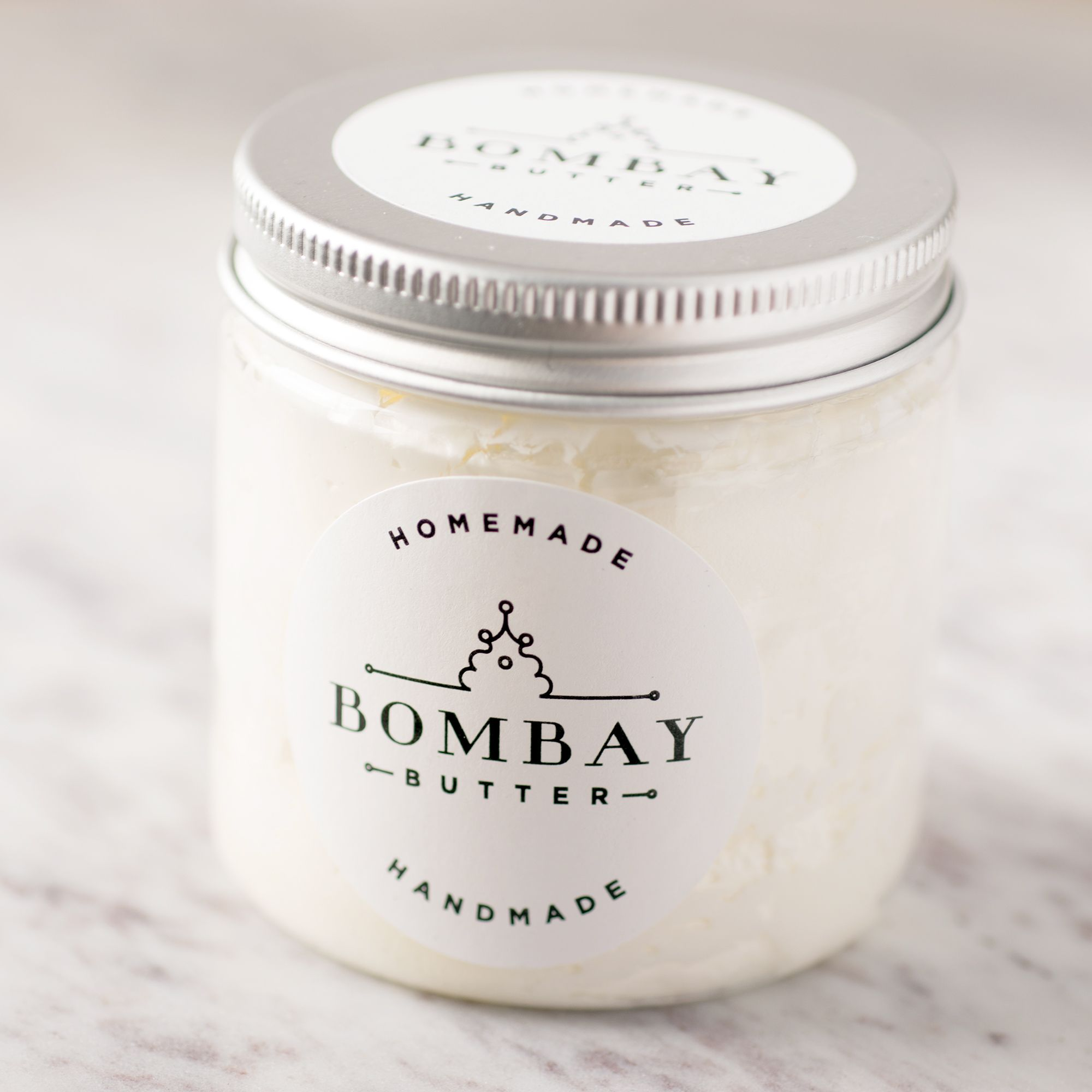 Bombay butters vegan body butter is made at home in small