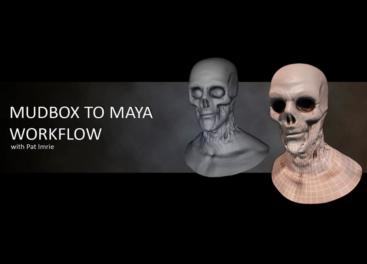 Mudbox to Maya Workflow | 3d Modeling, Animation and