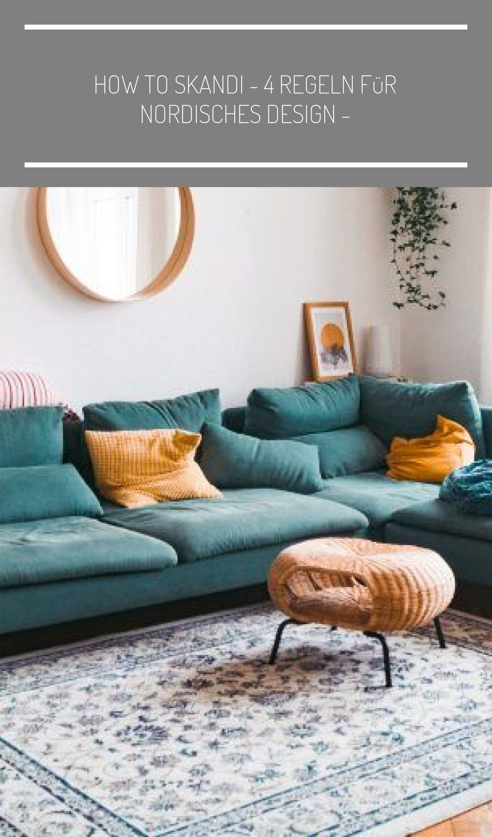 How To Skandi 4 Regeln Fur N In 2020 Couch Home Decor Furniture