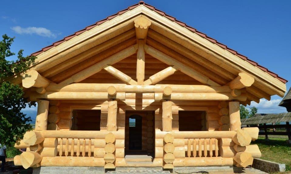 Preturi Case Din Busteni Cabane Din Lemn Proiecte Case Lemn House Styles House Dream House