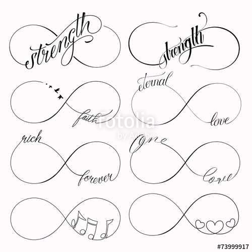 37+ Signe de linfini dessin inspirations