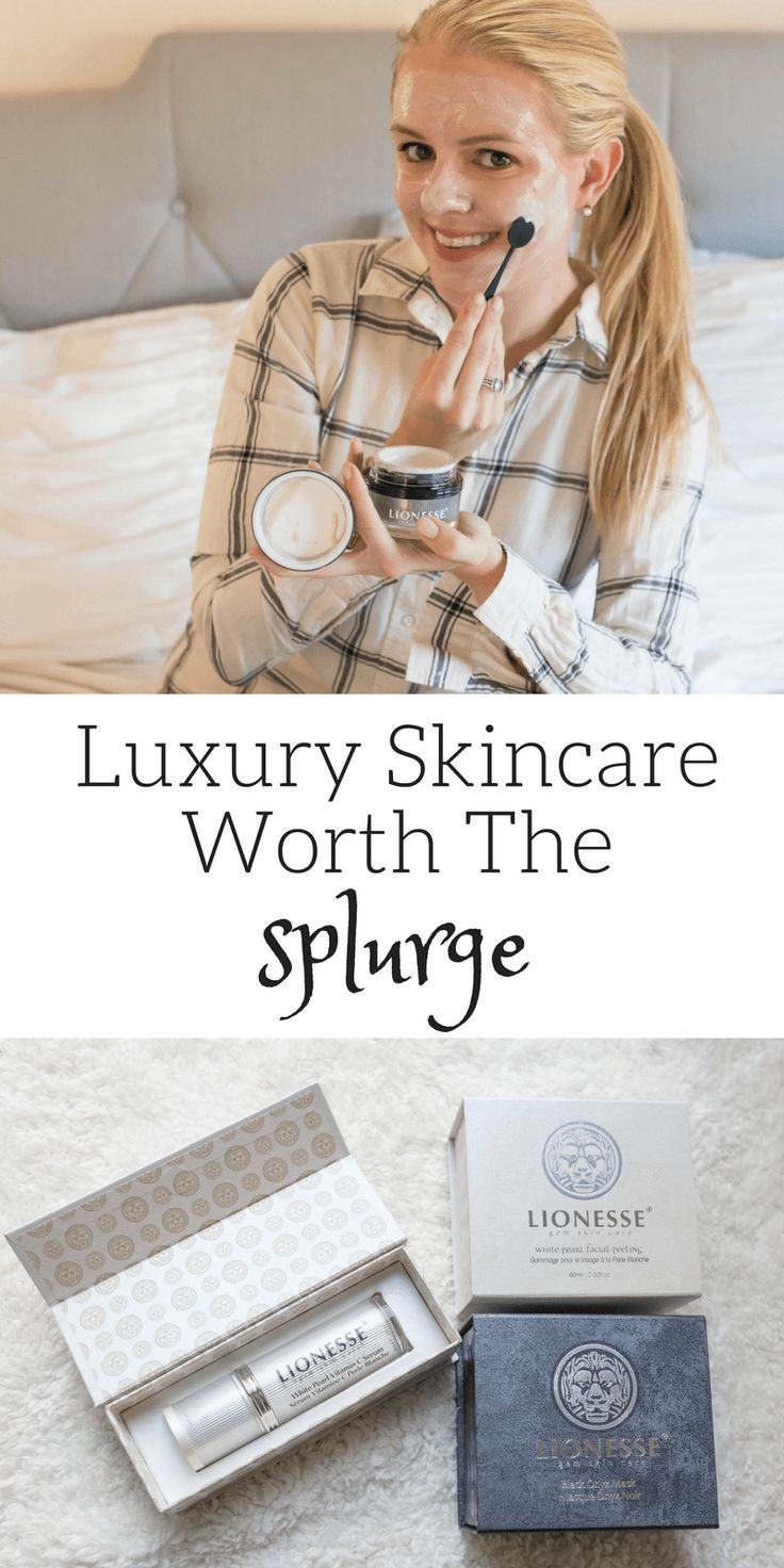 Luxery Skincare products worth the Splurge featuring Lionesse Beauty Bar // @shoppinglinks // #sponsored