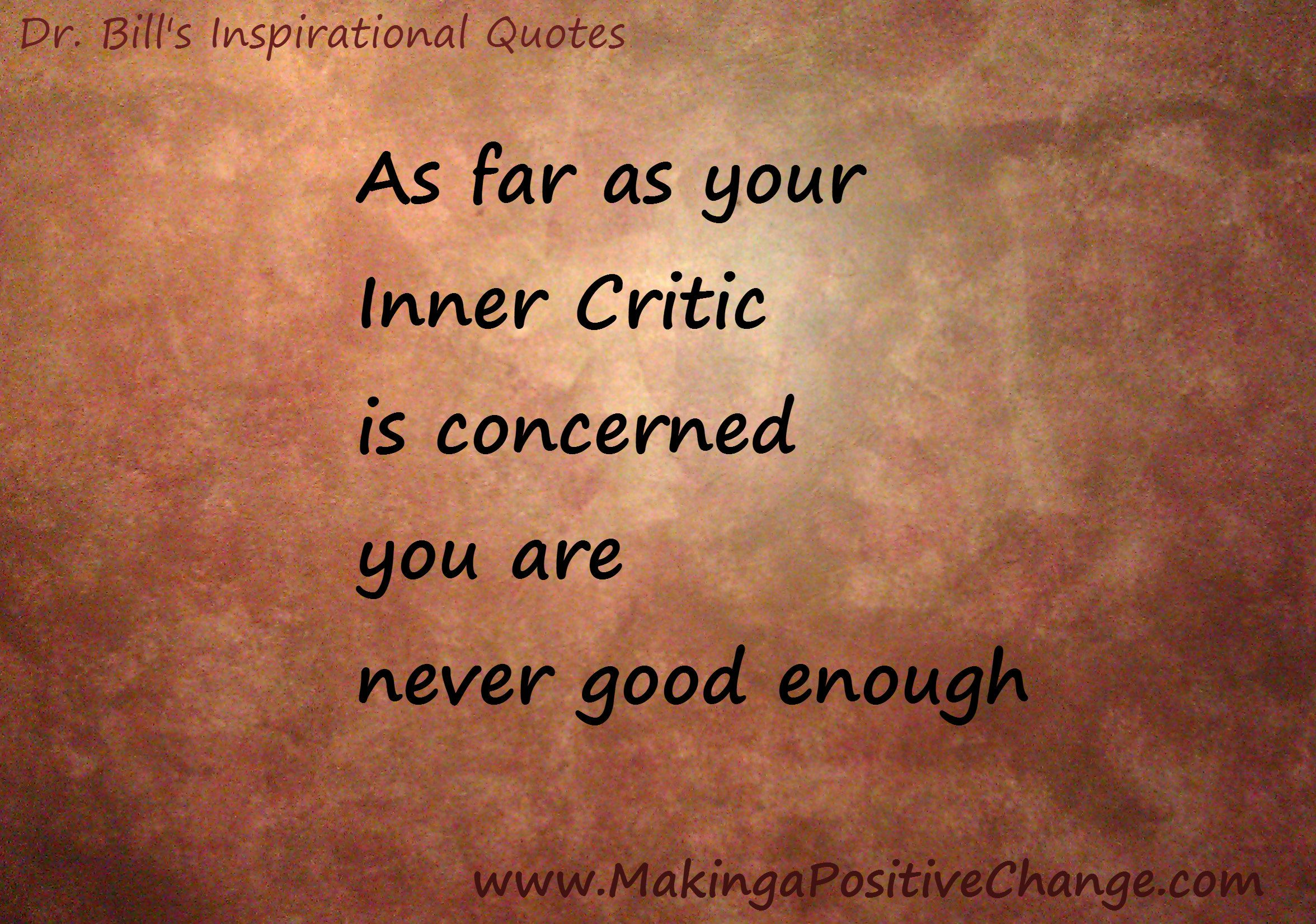 Your Inner Critic Or Self Critical Voice S Content Is