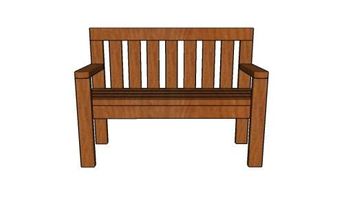Swell 24 Bench Plans Outdoor Benches Diy Wood Bench 2X4 Bralicious Painted Fabric Chair Ideas Braliciousco