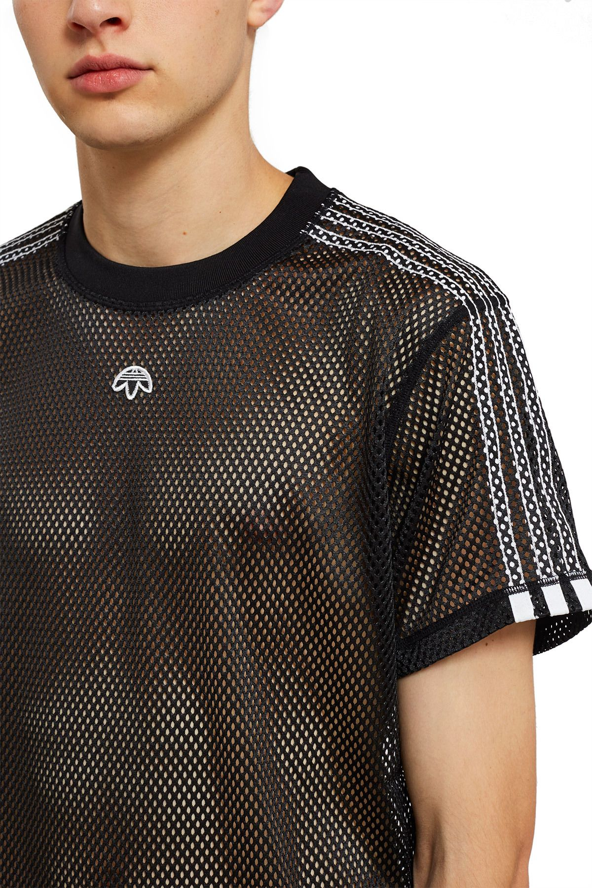 7f47c6fc60a39 adidas Originals by Alexander Wang, Mesh Tee Season 2 of adidas Originals  by Alexander Wang is inspired by the culture of New York City bike  messengers, ...
