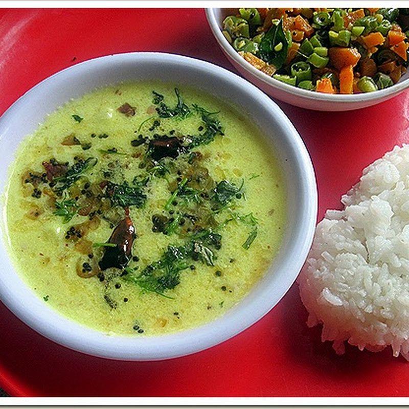 Mor Kuzhambu With Onion Tamilnadu Mor Kulambu Recipe Kulambu Recipe Recipes Buttermilk Recipes