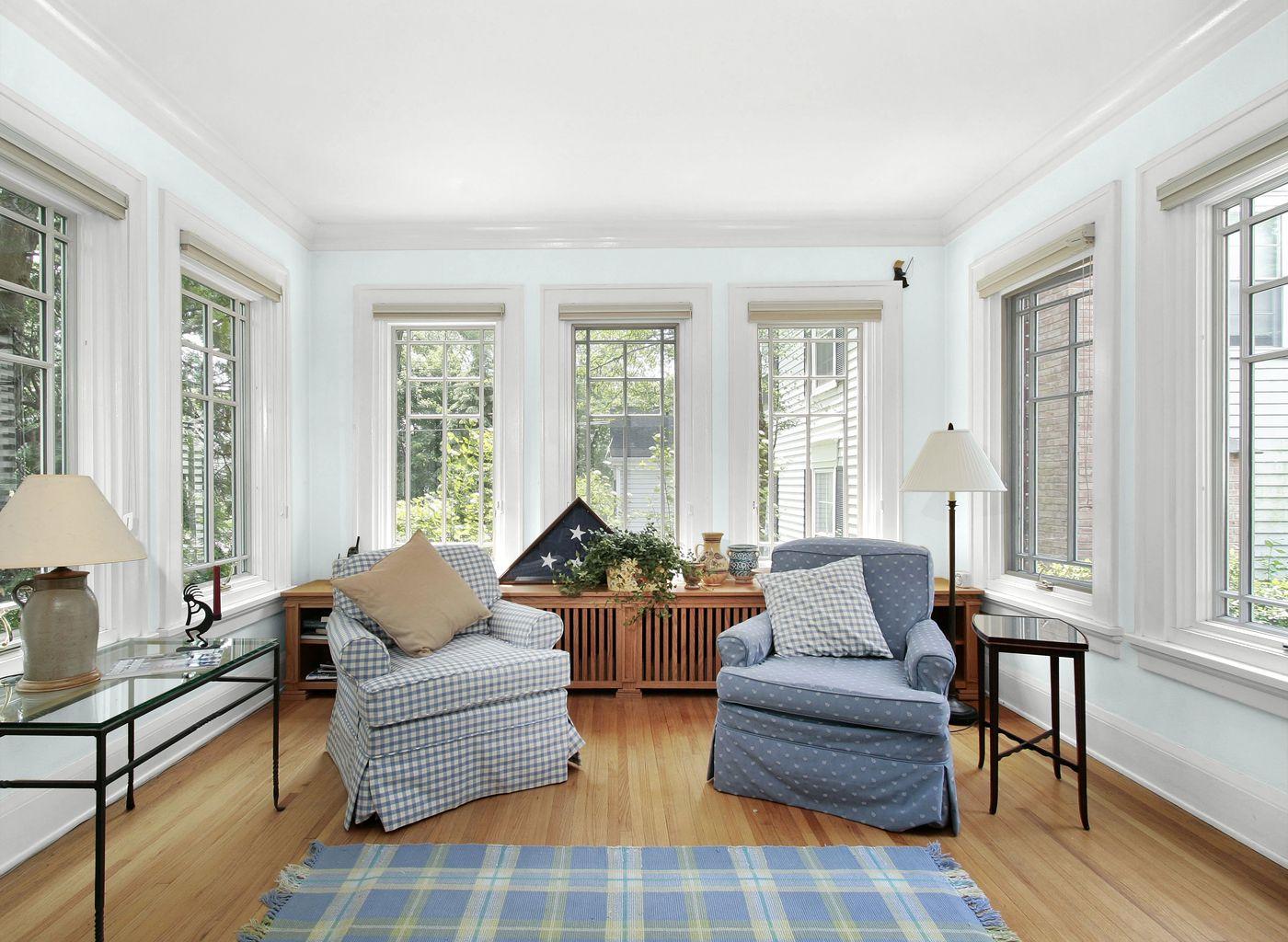 Living Room in Cloud Nine Blue | Living Rooms | Pinterest | Living ...