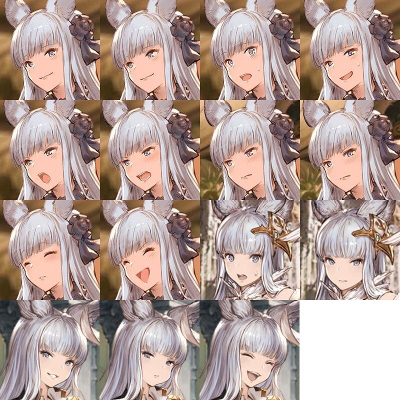 グラブル 表情差分」の画像検索...