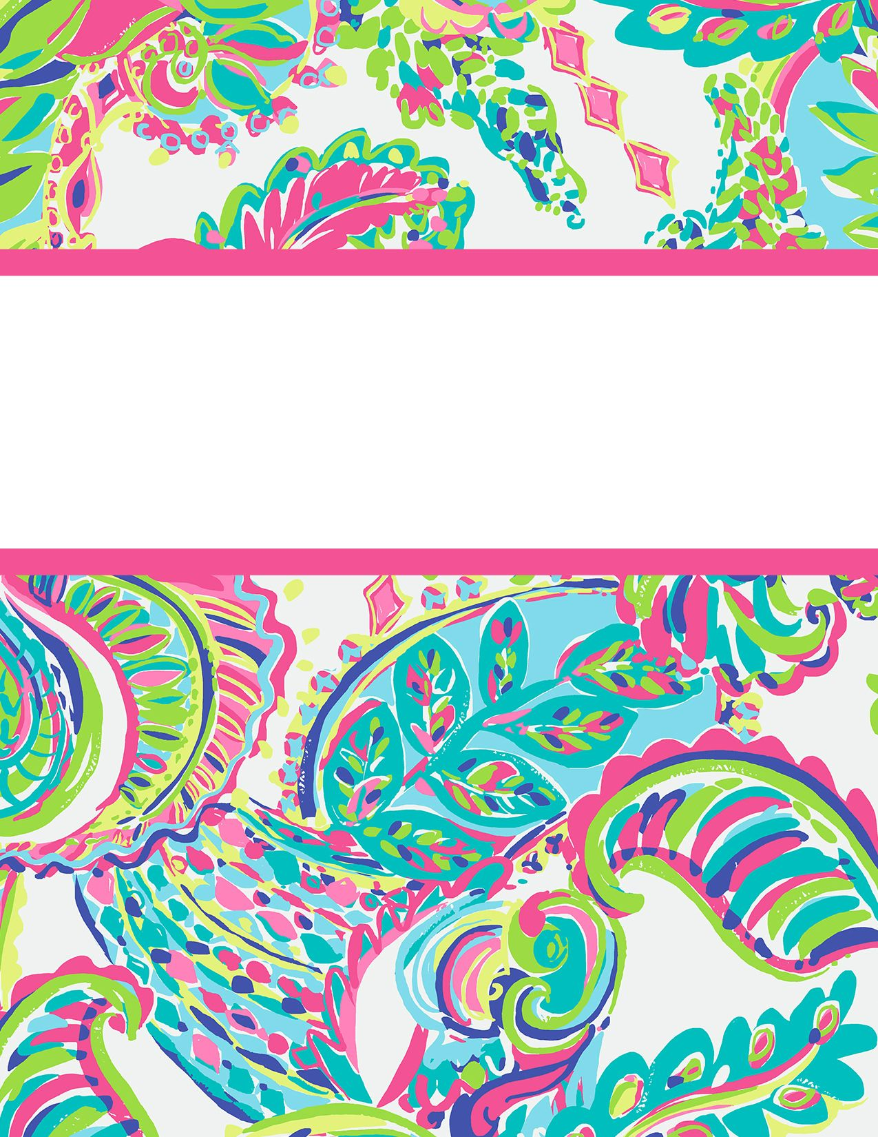 Preppy Goes Back To School A Fourth Time Lilly Pulitzer Binder
