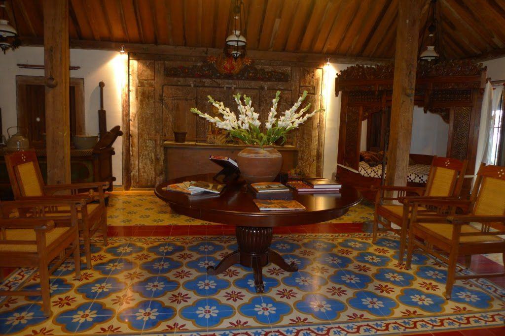 Rumah Jawa At Cijeruk Rumah Joglo Dengan Gambar Ruang Makan