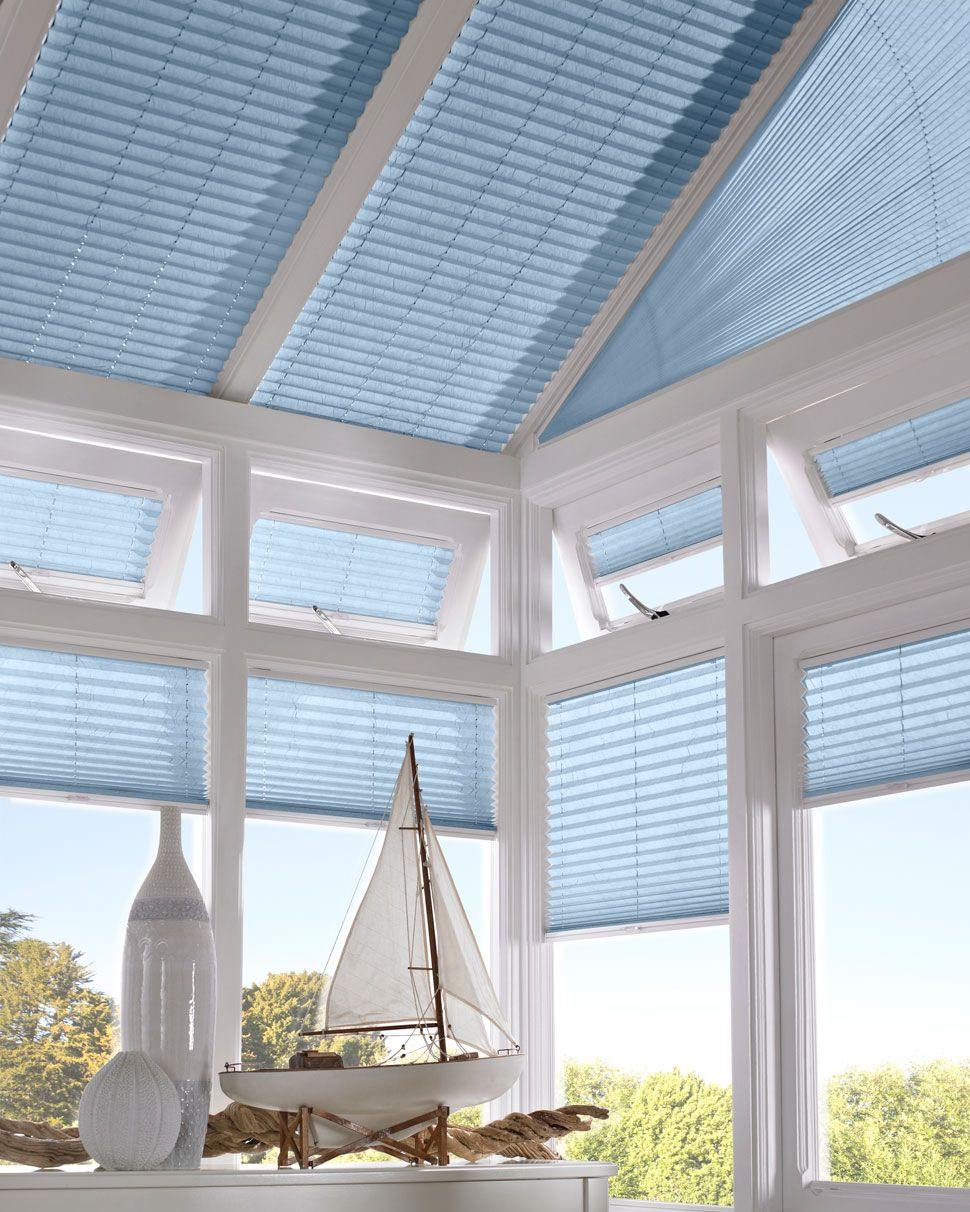 Pleated Conservatory Blinds Conservatory Blinds Thomas