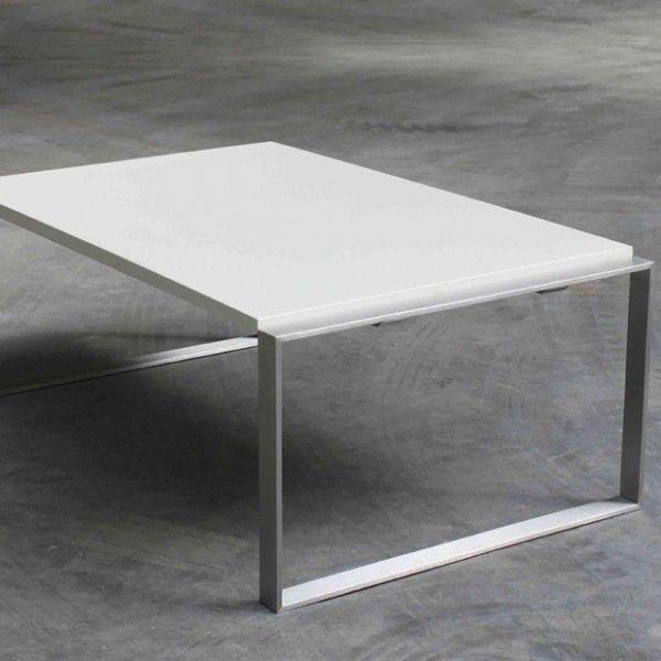 Concrete home design beton stahl couchtisch 98 60 for Designer couchtisch stahl