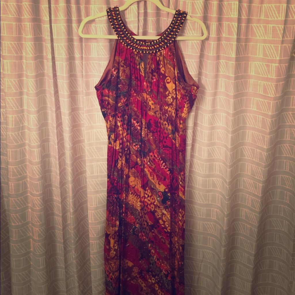 Moroccan Inspired Keyhole Maxi (10)