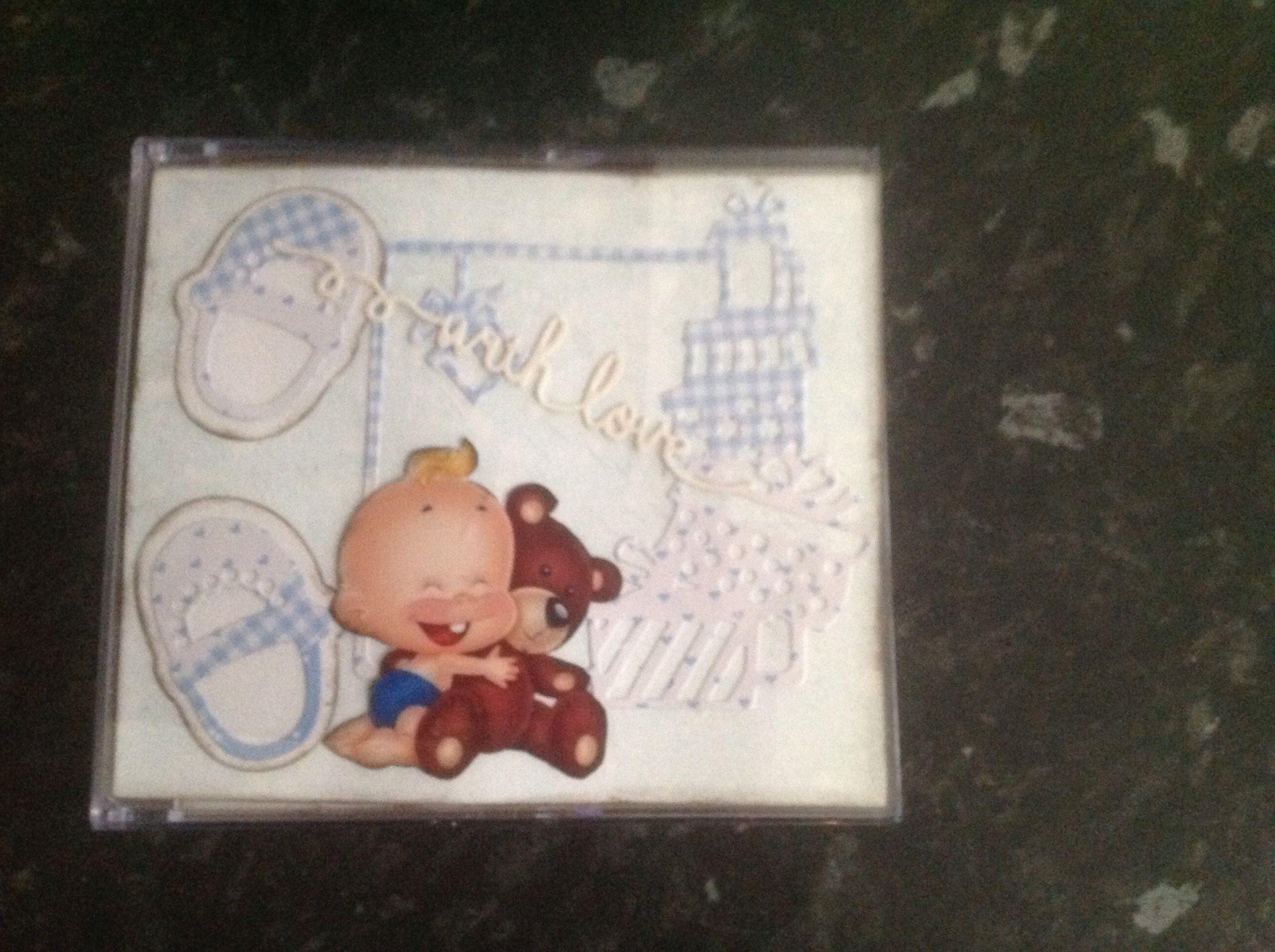 Cd kassette til barnedåb