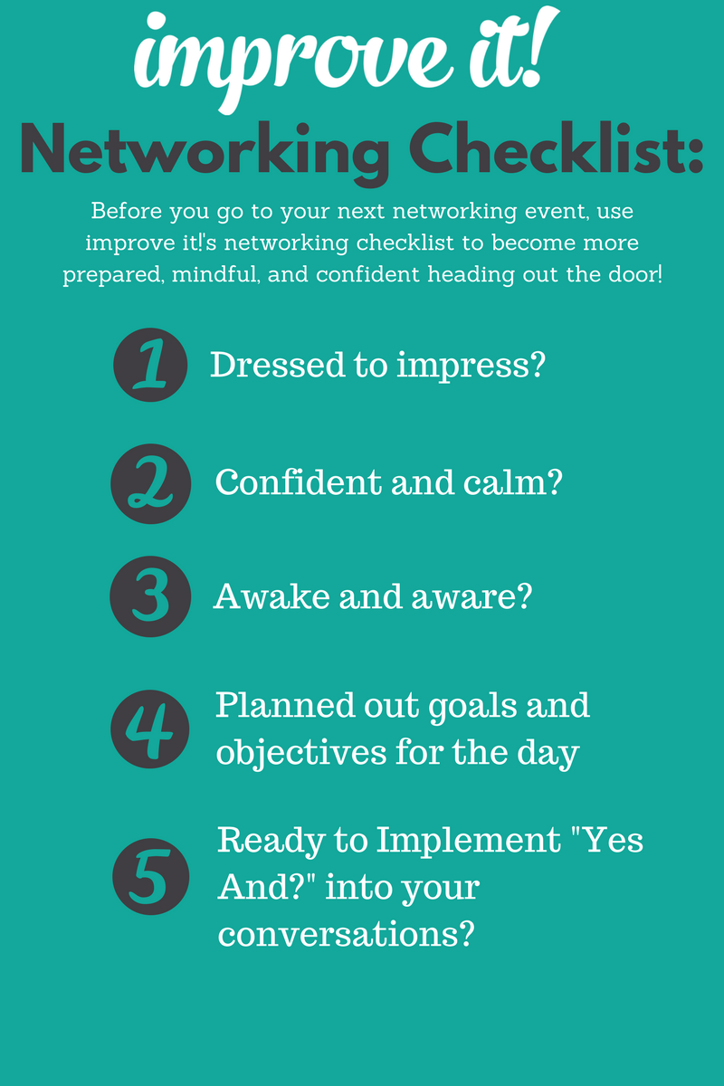 improve You Improve yourself, Networking event, Improve