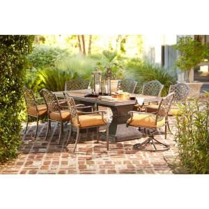 9 Piece Hampton Bay Patio Set