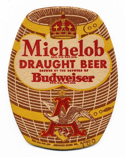 Michelob Draught Beer Beer Coasters Beer Poster Beer