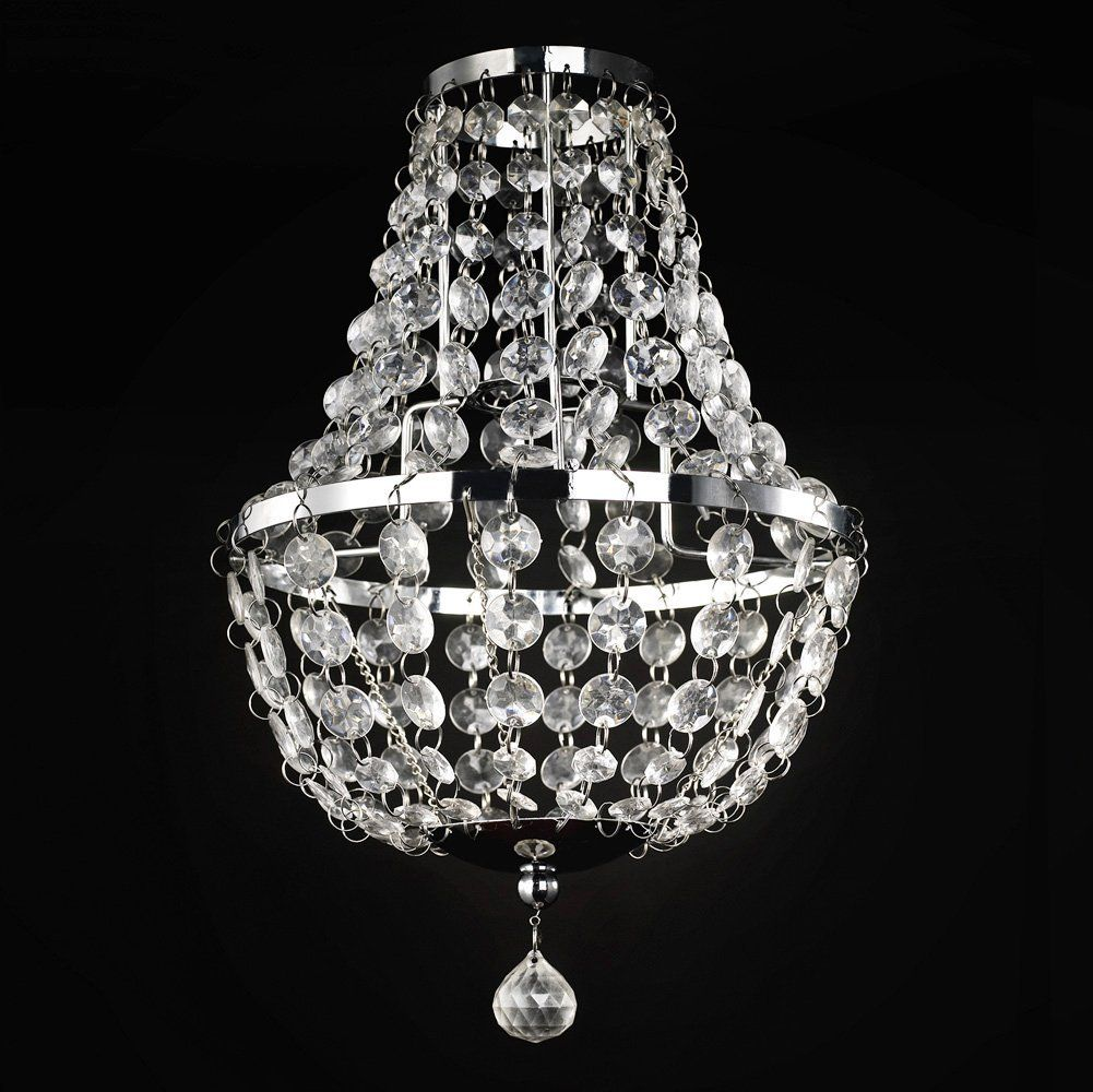 Modern Decorative Draped Non Electric Ceiling Pendant