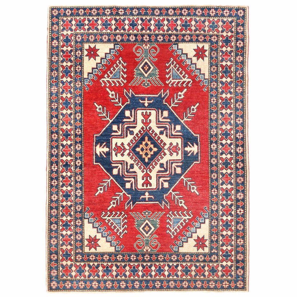 Herat oriental afghan handknotted kazak wool rug u x u