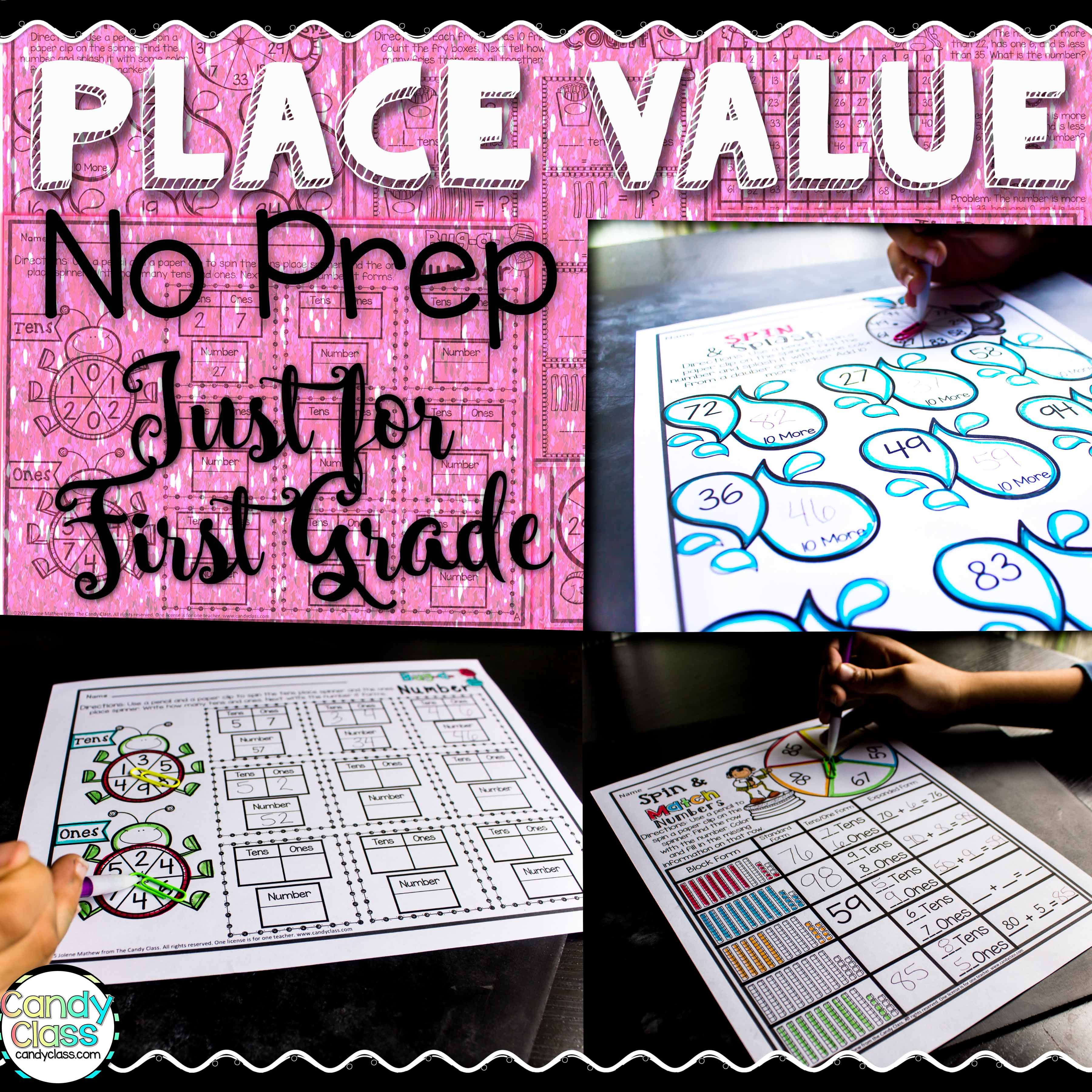 Teaching Ideas For Place Value Amp Two Freebies