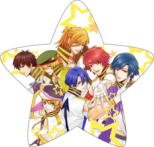 UtaPri ~~ Star-shaped STARISH! [ 透明うちわ用 Art by ガチコ。]