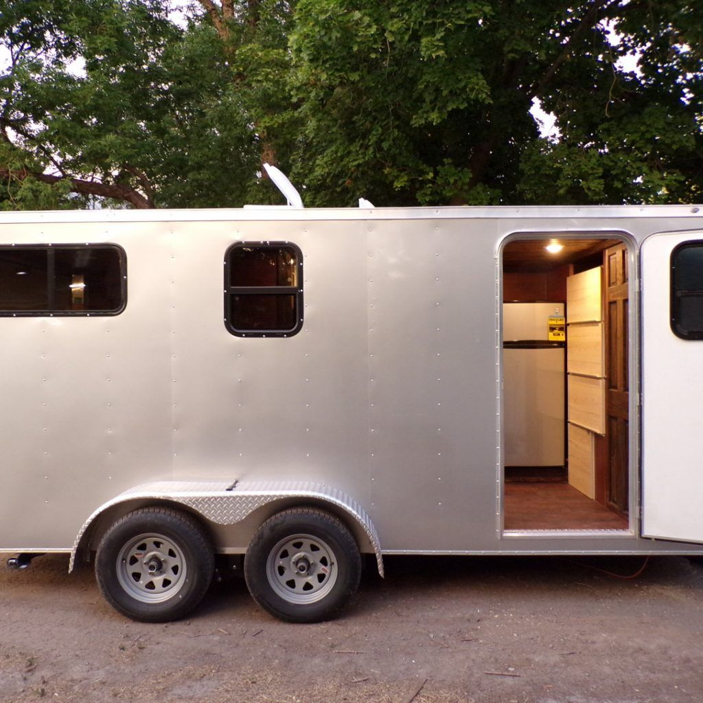 Brand New off grid Toy hauler/camper trailer Tiny House