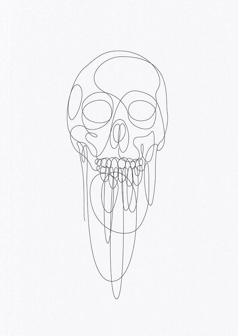 One Line Ascii Art Crown : Illustration by dft aka differantly