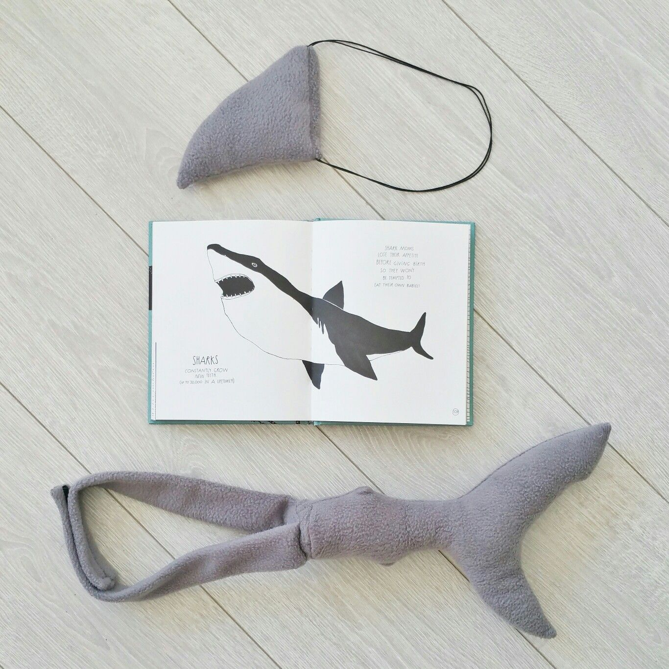 Book week idea Schooza shark costume and Maja Säfström