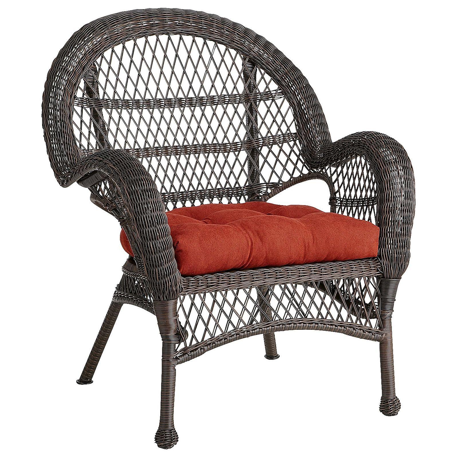 Santa Barbara Mocha Armchair Hayworth Patio Chairs