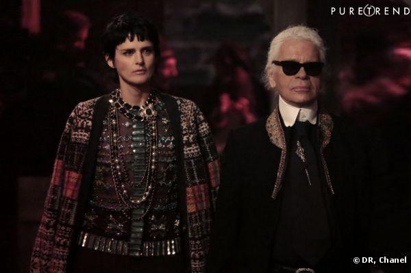 Paris-Edimbourg, les photos du défilé des Métiers d'Art de Chanel