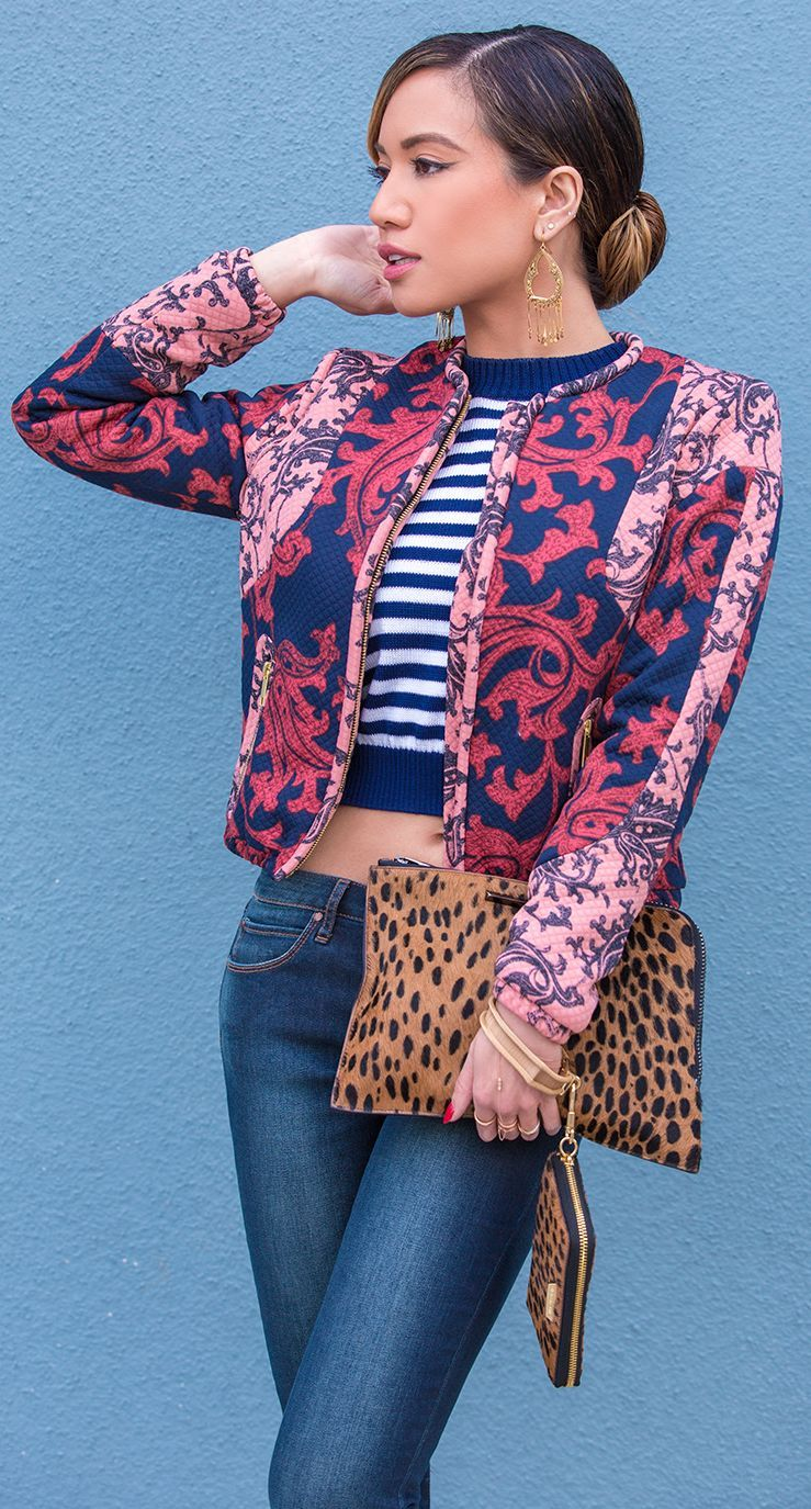 Mix Print Game Outfit #Fashionistas