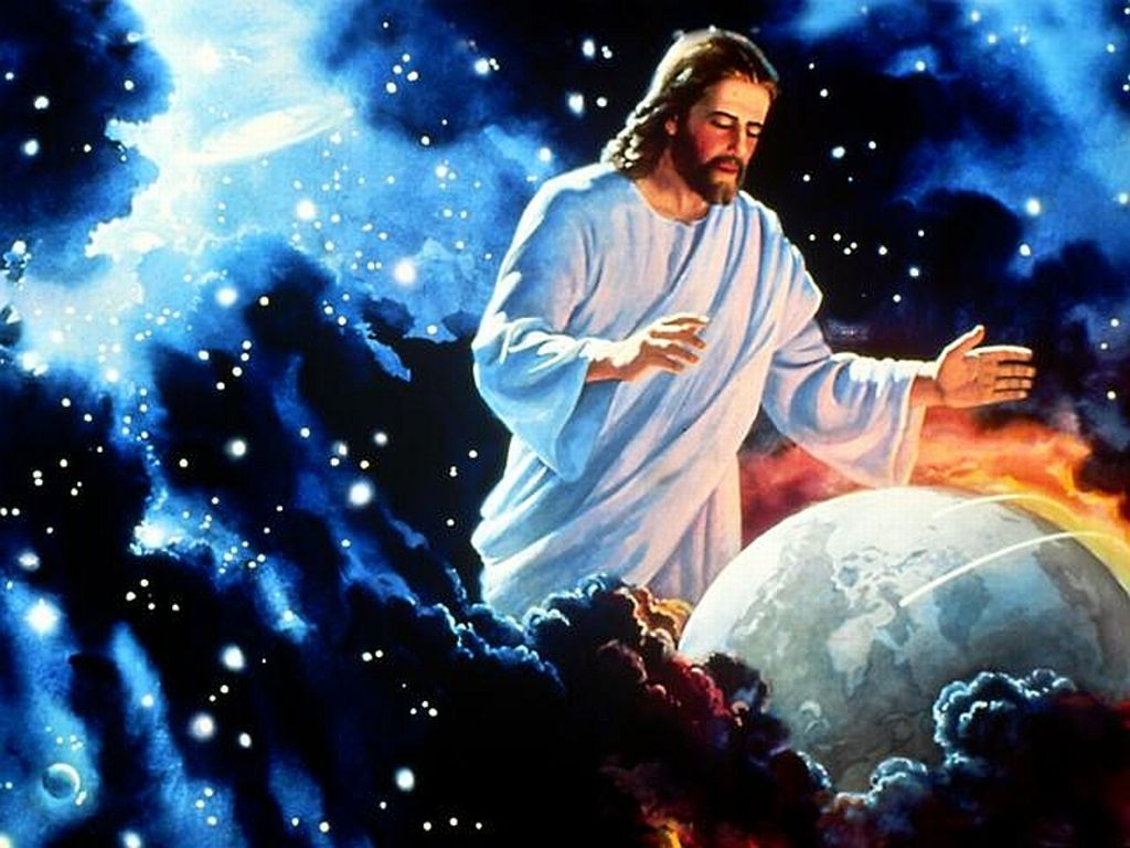 Colossians 1 16 17 Through Christ God Created Everything In The Heavenly Realms On Earth He Made The Things Jesus Pictures Jesus Wallpaper Akiane Kramarik