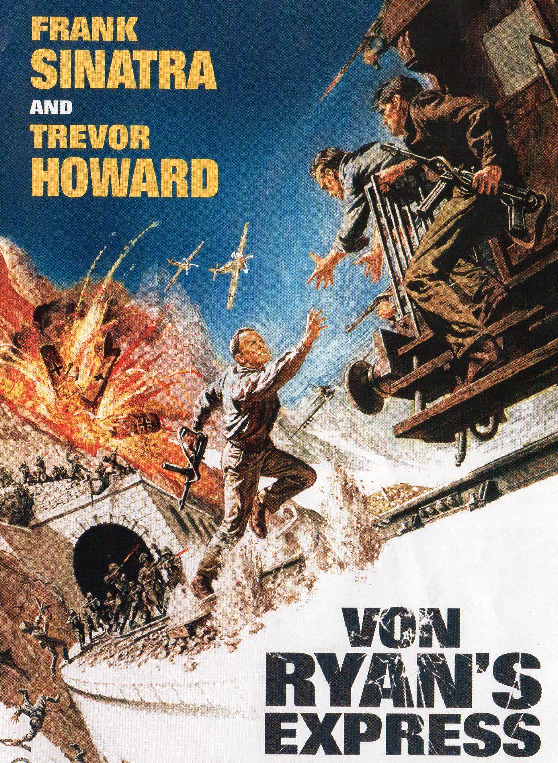 Burl reviews Von Ryan's Express! (1965) Old movie