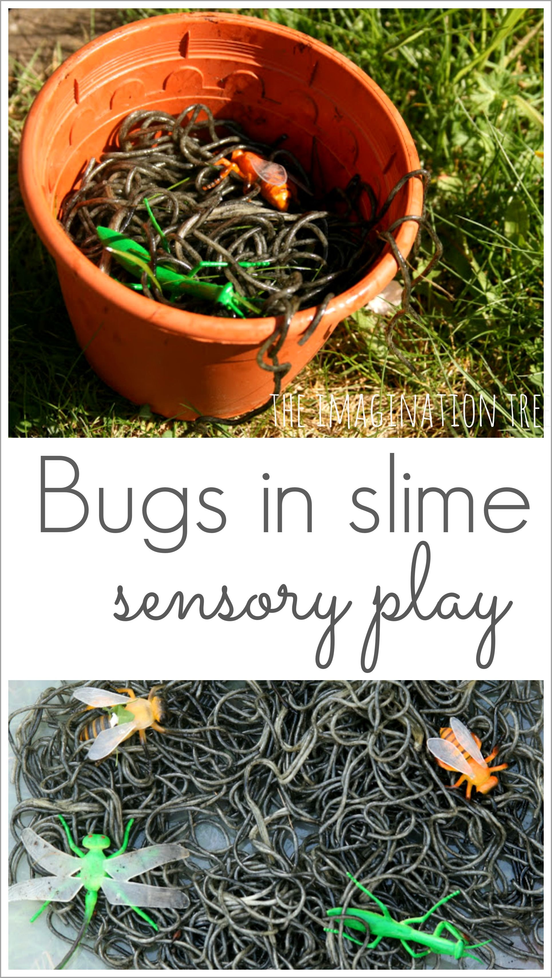 how to make green spaghetti for messy play