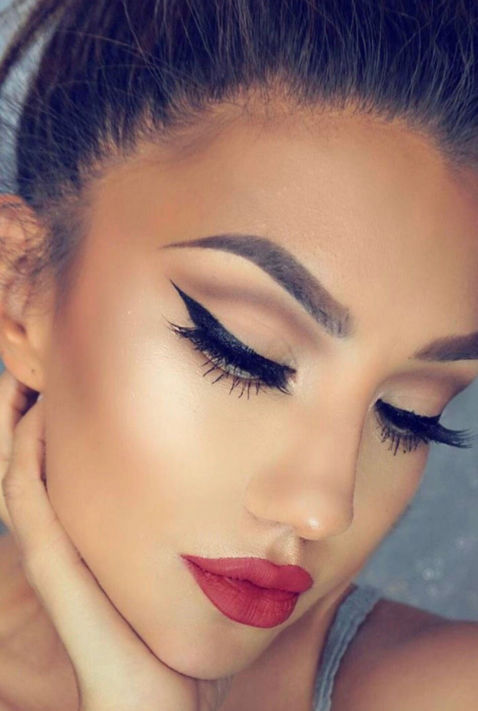 15 Winter Makeup Looks by Icebound lemon Musely
