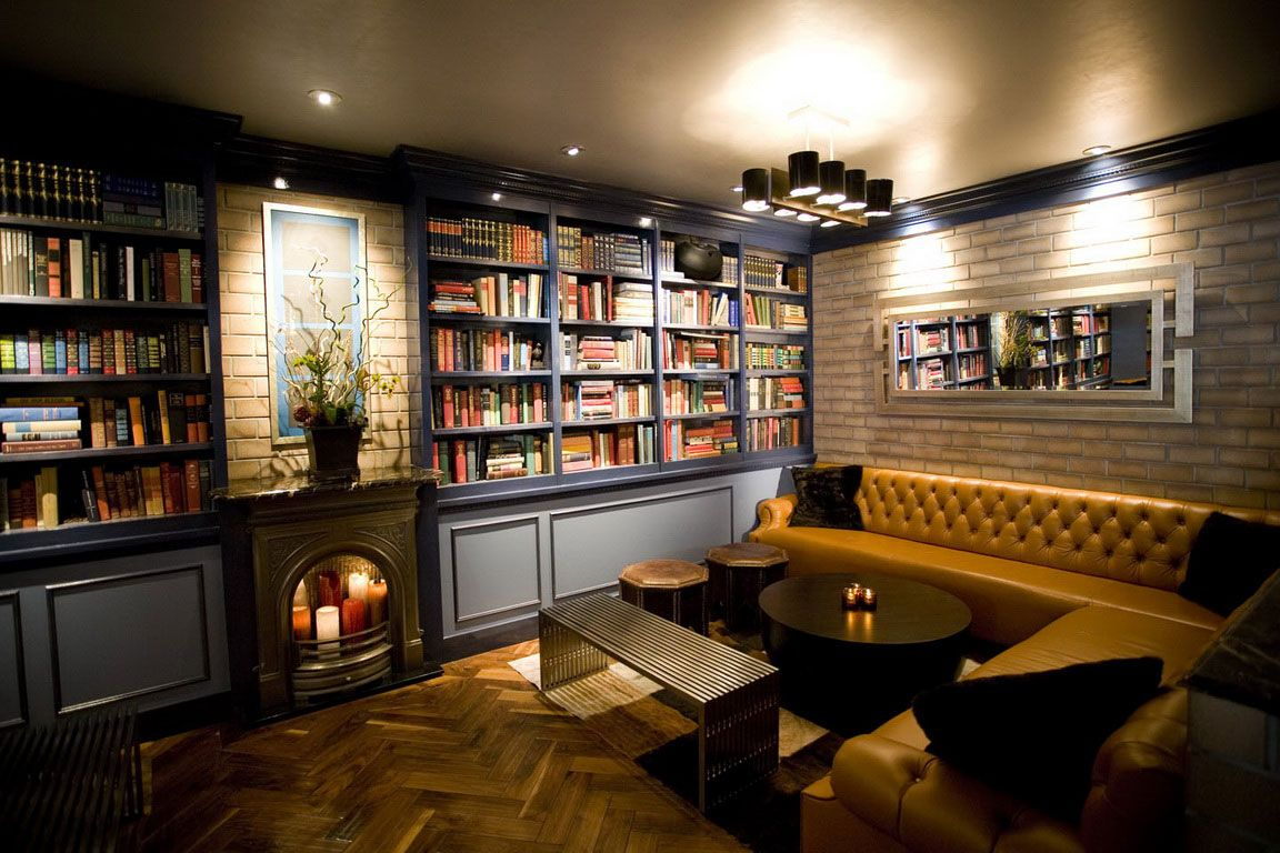 home library ideas | ... Home Library › Extraordinary Place For ...