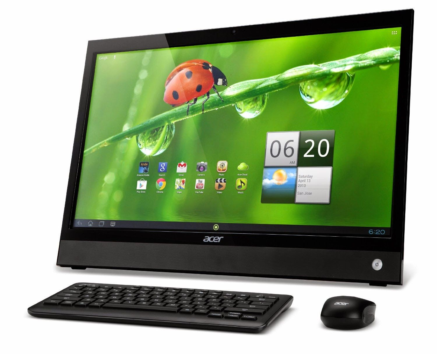 Acer 21.5Inch AllinOne Touchscreen Desktop Android