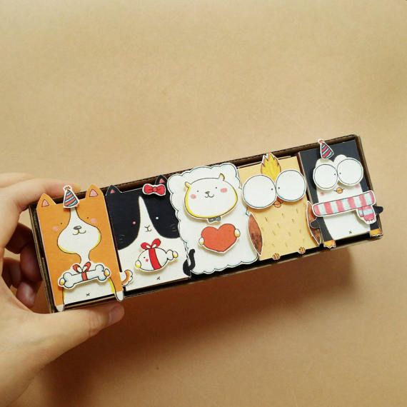5 DIY Birthday MatchboxSet Funny Birthday Card DIY Cards – Set of Birthday Cards
