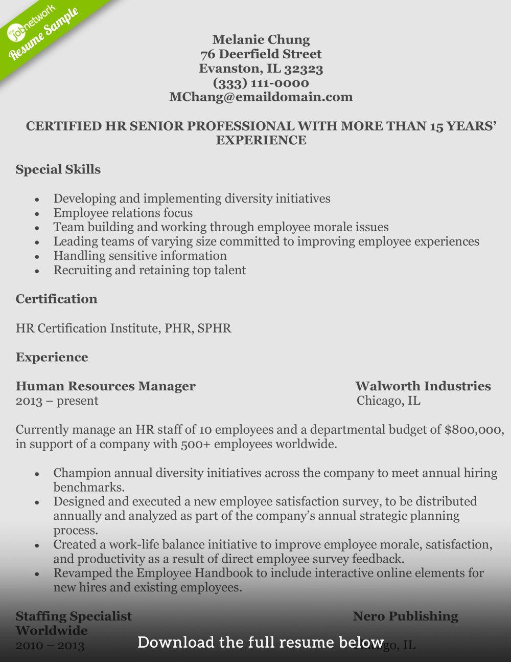 Human Resource Internship Resume Beautiful How to Write A