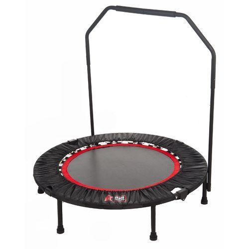 """Urban Rebounder 40"""" Round 1/4-Fold Trampoline With"""