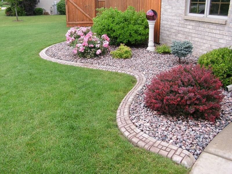 Nice Gravel Flower Bed Ideas Kimberly Porch And Garden Best Pea In
