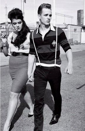 Images From The 1950s And Later Of Teddy Boys And