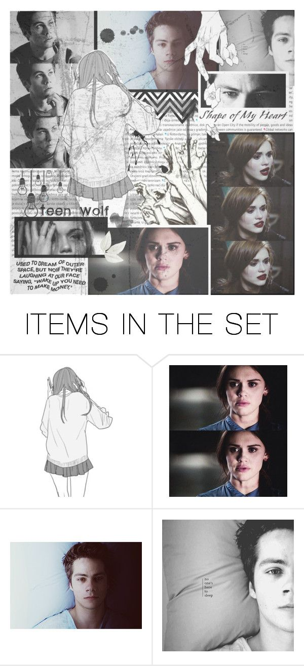 """""""♥ Stydia - Teen Wolf ♥"""" by tinaisapenguin ❤ liked on Polyvore featuring art"""