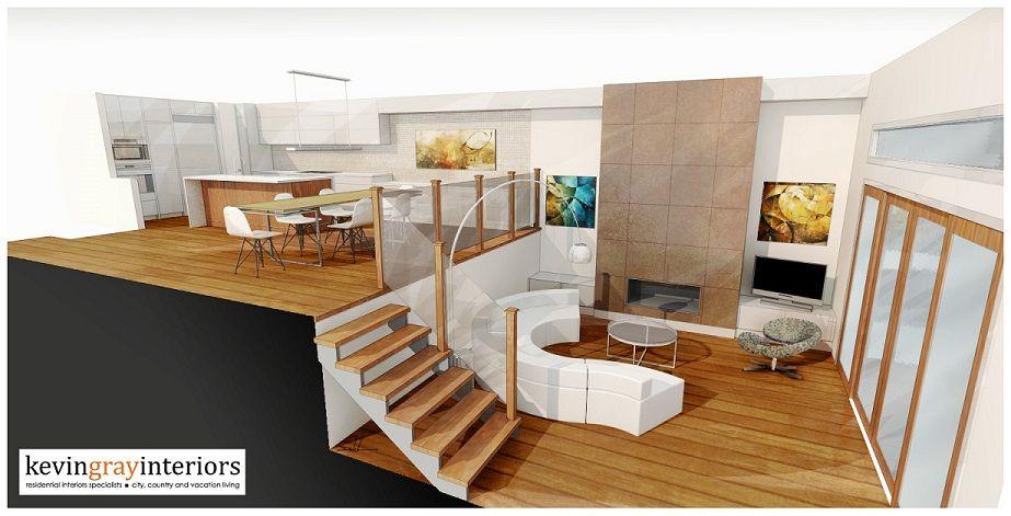 In Progress Kevin Gray Interiors Calgary Modern Floor Plans Open Concept Floor Plans Floor Plan Design