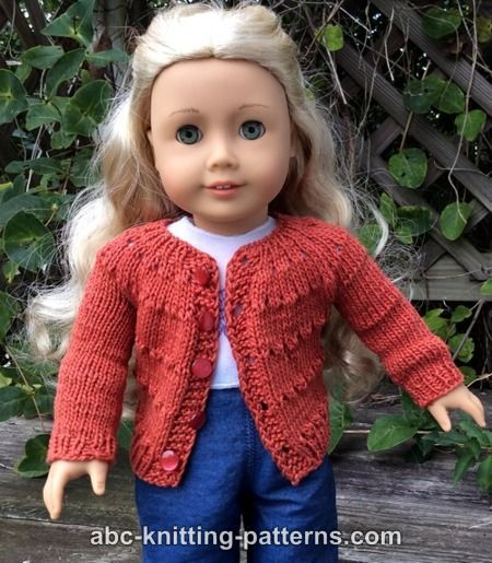 Abc Knitting Patterns American Girl Doll Country Style Autumn