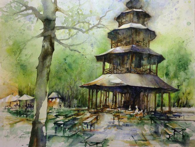Sabine Ziegler - Watercolour